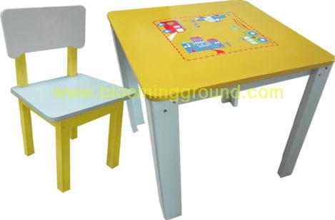 ชุดโต๊ะเด็ก รุ่น ซุปเปอร์คาร์