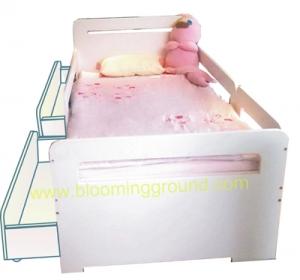 เตียงเด็กโต 3ฟุตรุ่น ไลฟ์ลี่ ชั้นล่างแบบกล่องลึ้นชัก