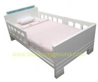 Retro Bed 3.5Ft. (เตียงเด็กโต รุ่นเรโทร  3.5 ฟุต)