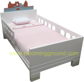 Castle Bed 3.5Ft. . (เตียงเด็กโต รุ่นแคสเซิล  3.5 ฟุต)
