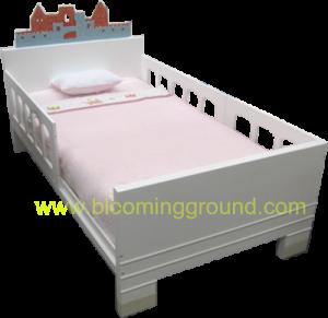 เตียงเด็กโต 3.5 ฟุต รุ่น แคสเซิล