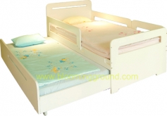 Lively Bed 3.5 Ft.  (low bunk bed with 2 mattresses) (เตียงเด็กโต รุ่นไลฟ์ลี่  3.5 ฟุต)