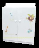 Compact  Cabinet  (ตู้เสื้อผ้าเด็กรุ่น คอมแพคท์)
