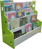 'Castle' book shelf –- lime green (ชั้นหนังสือเด็ก รุ่น  แคสเซิล  สีเขียว)