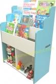 'Hobbie' Bookshelf – blue color (ชั้นหนังสือเด็ก รุ่น  ฮอบบี้ สีฟ้า)