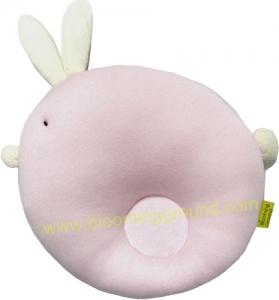 หมอนหลุมกระต่าย สีชมพู