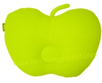 Apple baby pillow –green