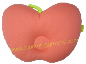 Apple baby pillow –old rose