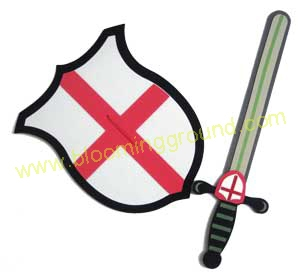 Mask & Shield soft toy- red