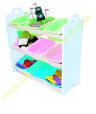 Toy Storage Shelf 9 buckets (ชั้นเก็บของเล่น 9 กระบะ)