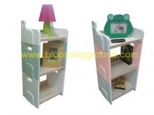 Mini Stackable shelves 'Pico' (ชั้นหนังสือเด็ก รุ่น  พิโค)
