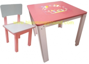 ชุดโต๊ะเด็ก รุ่น เงือกน้อย